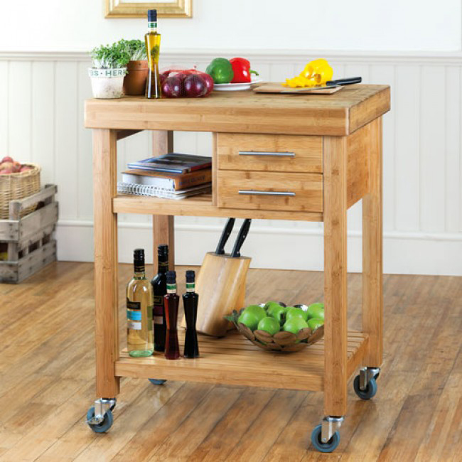 Top 5 wooden kitchen trolleys to match your kitchen worktops worktop express blog - Kitchen cabinets trolleys pictures ...