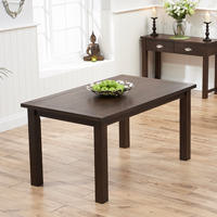 Vince Round Walnut Dining Table