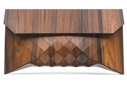 Orli Tesler and Itamar Medelovitch - Wooden Clutch Bag