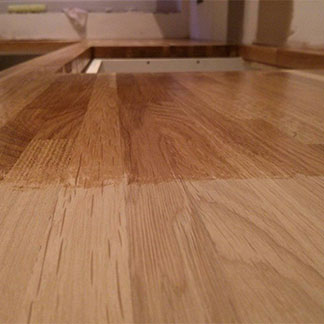 Removing Stains and Discoloration on Wooden Work Surfaces | Worktop