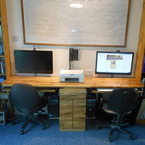 Using Wooden Worktops for Desks