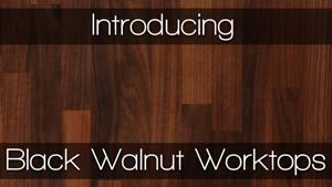 american black walnut worktops worktop express. Black Bedroom Furniture Sets. Home Design Ideas