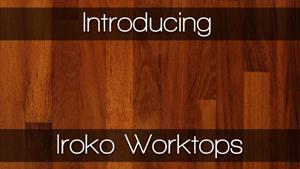 iroko block wood kitchen worktops worktop express. Black Bedroom Furniture Sets. Home Design Ideas