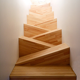 Design innovators TAF's staircase