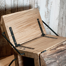 The 'Waste Less' Wooden Chair