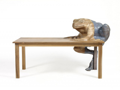The Walnut Frog Table Timber Tops