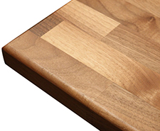 Solid Wood Worktop - Edge profile