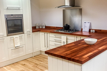 Walnut Kitchen Worktop - Warrington Worktop Showroom