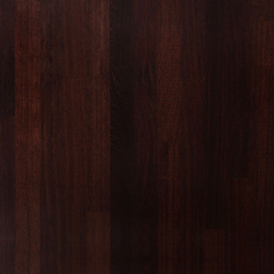 Wenge is incredibly dark in colour and this makes it a great choice for a more dramatic kitchen style