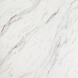 This marble Calcutta laminate worktop provides an elegant option for any kitchen