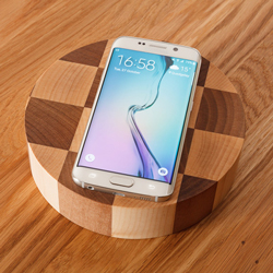 Wireless charger for Wooden Worktops.
