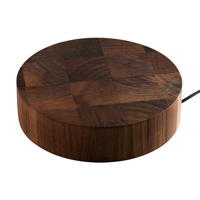 Solid Walnut Worktop Wireless Charger for Wooden Worktops.