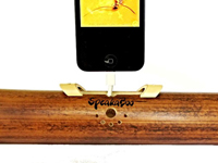 Our number 2: SpeakaBoo Bamboo iPhone Speaker
