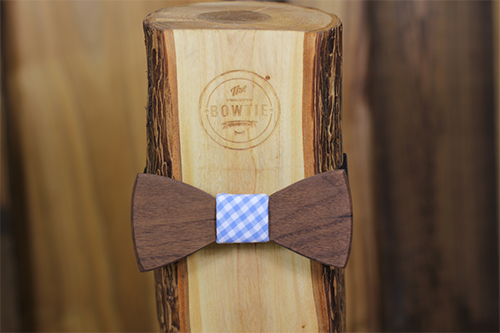Solid Wood Bowties
