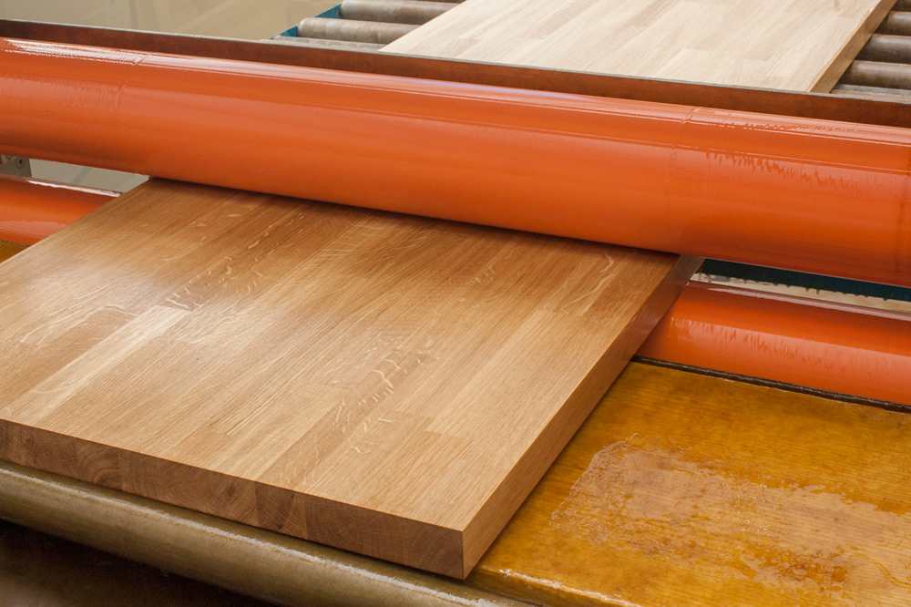 Our worktop pre-oiling service offers an incredible finish that helps protect the worktop during delivery and installation.