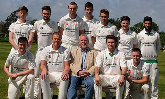 Solid Wood Worktops Sponsor Frocester Cricket Club First XI