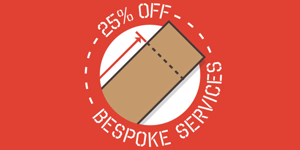 Save 25% on Bespoke Worktop Fabrication Services!