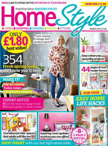 Our wood kitchen worktops are featured in the home style magazine.