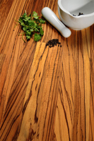 Zebrano solid wood worktops are a popular choice in Southend-on-Sea.