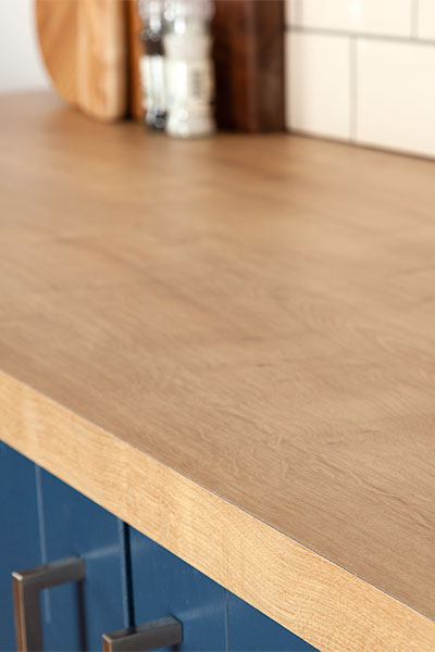 Discover more images of our Arlington Oak laminate worktop range