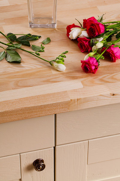 Discover more images of our Ash worktop range