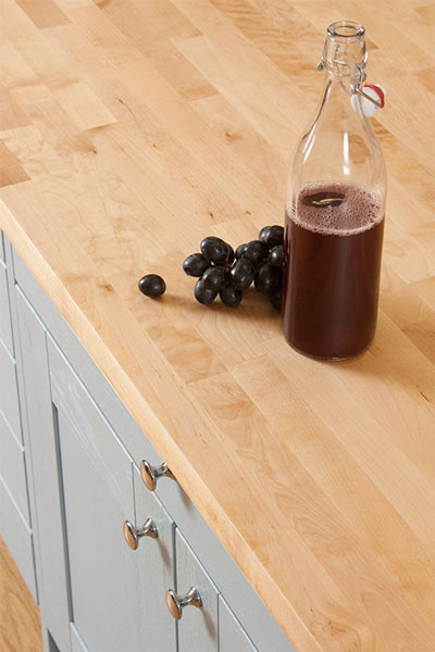 Discover more images of our Birch worktop range
