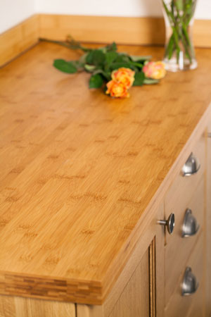 Discover more images of our Caramel Bamboo worktop range