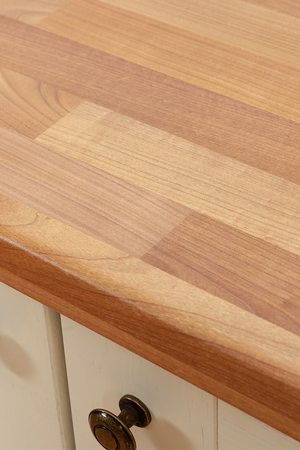 Discover more images of our Cherry Block laminate worktop range