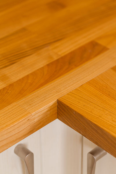 Discover more images of our Cherry worktop range