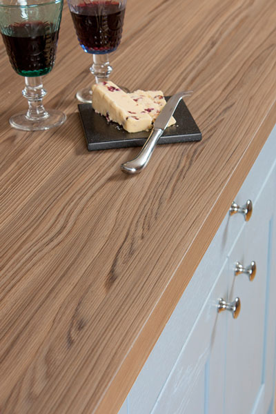 Discover more images of our Cypress Cinnamon laminate worktop range