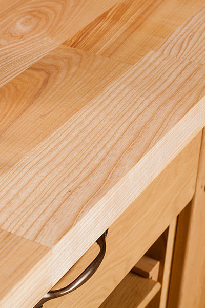 Discover more images of our Deluxe Ash worktop range