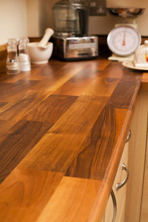 Discover more images of our Deluxe Walnut worktop range