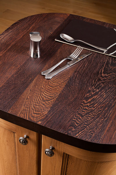 Discover more images of our Full Stave Wenge worktop range