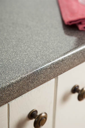 Discover more images of our Galaxy Gloss laminate worktop range
