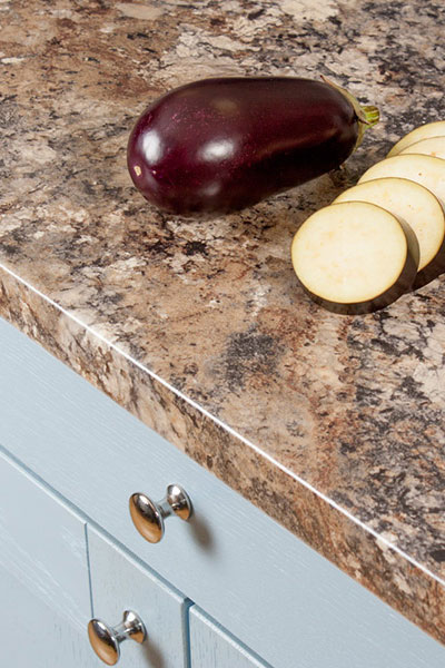 Discover more images of our Granite Winter Carnival laminate worktop range