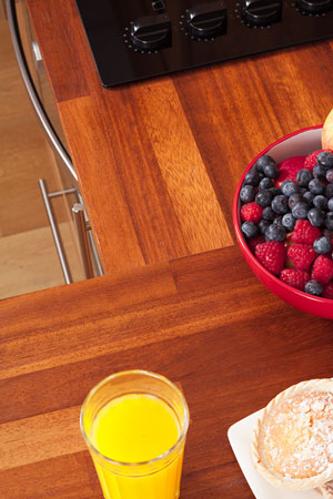Discover more images of our Iroko Worktop range