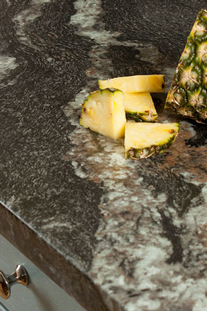 Discover more images of our Black Marble laminate worktop range