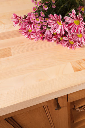 Discover more images of our Maple worktop range