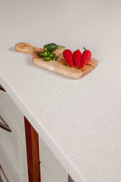 Discover more images of our Nordic Earthstone worktop range