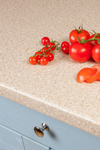 Discover more images of our Taurus Beige Cream laminate worktop range