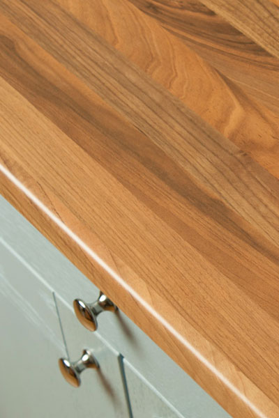 Discover more images of our Walnut Block laminate worktop range