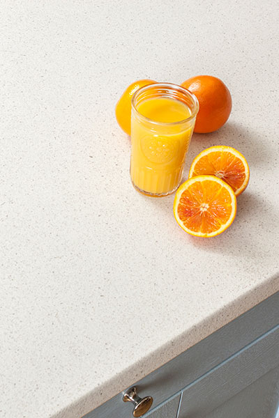 Discover more images of our White Quartz Stone laminate worktop range