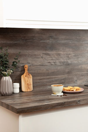 Discover more images of our Mystic Pine laminate worktop range