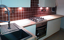 Iroko Kitchen Worktop