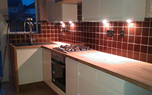 Iroko Oak Kitchen Worktop