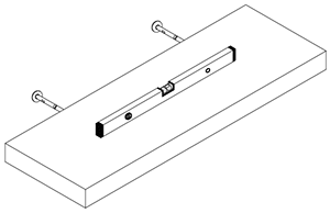 Floating Shelves Installation Instructions - Steps 8 and 9