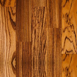 Deluxe Zebrano Worktops - Wood Grain