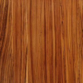 Full Stave Zebrano Worktops - Wood Grain