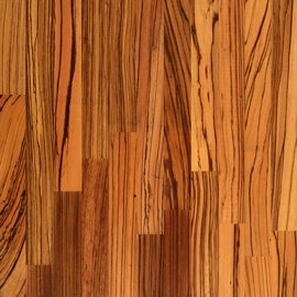 Zebrano Worktops - Wood Grain
