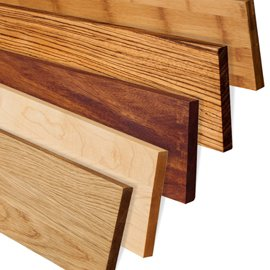Solid Wood Worktop Upstands